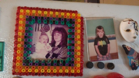 Exclusive photos from my mom's refrigerator gallery.
