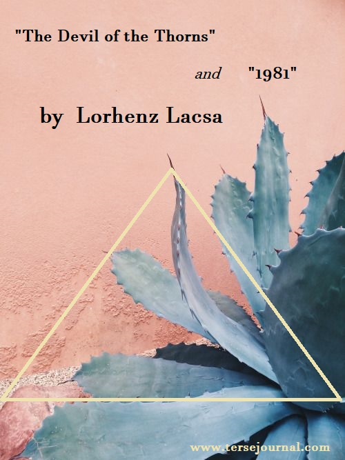 Lorhenz Lacsa Poems