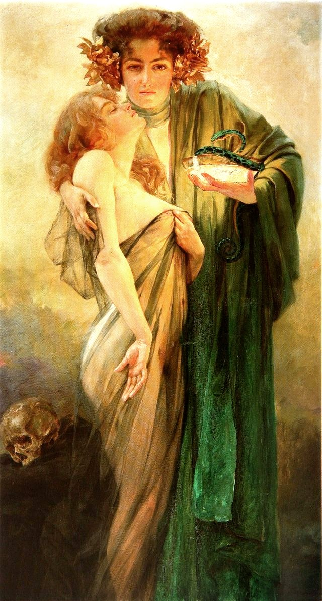 allegory of medicine robert auer 1914
