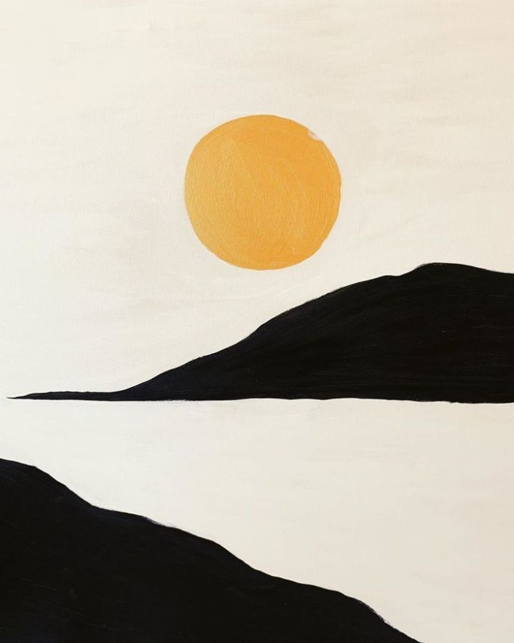 Acrylic on Canvas #mustardgold.jpeg